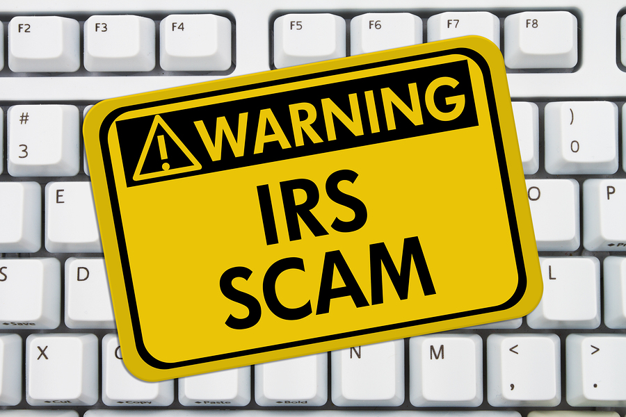 the IRS won't email you