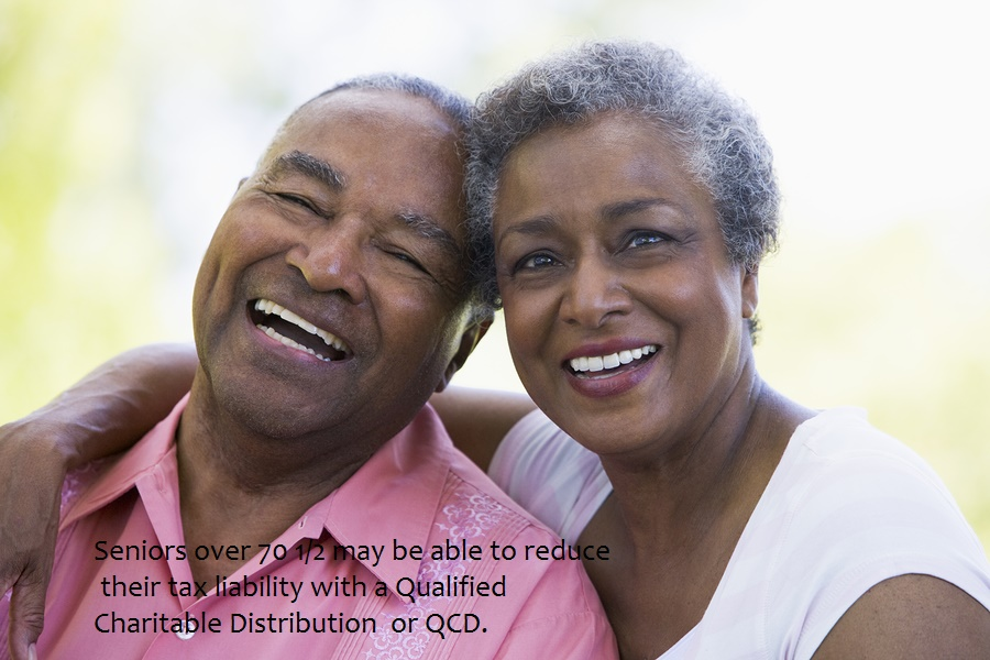 Qualified Charitable Distributions help save on taxes
