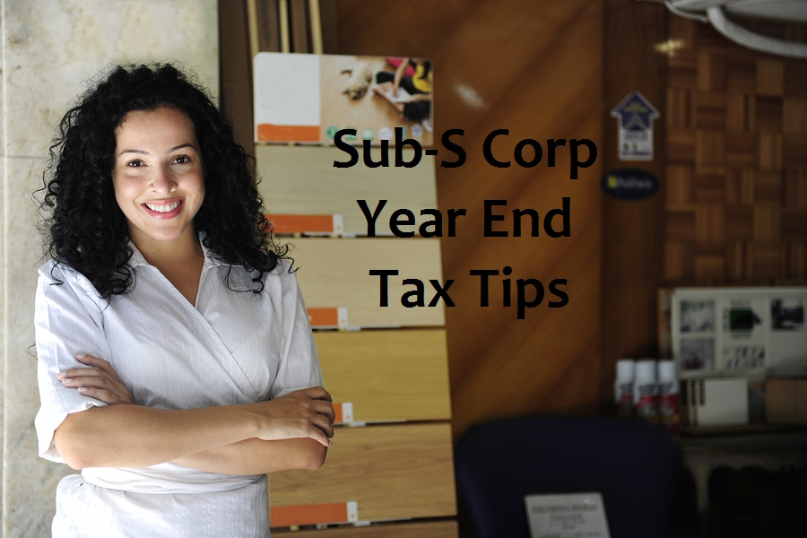 Tax tips for Sub-chapter S Corporations