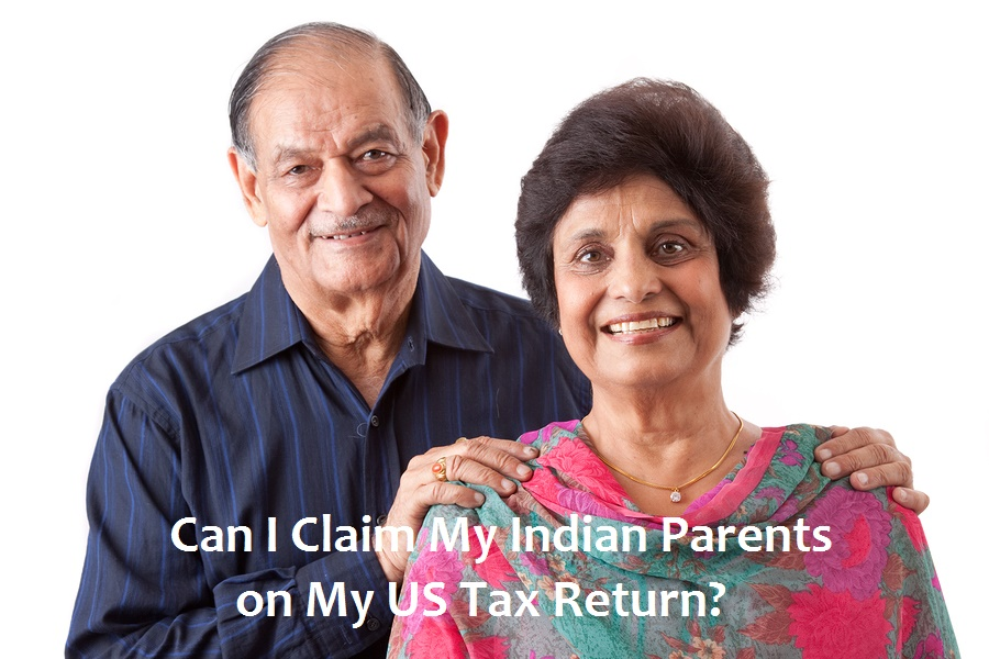It's difficult to claim foreign parents on a US tax return.