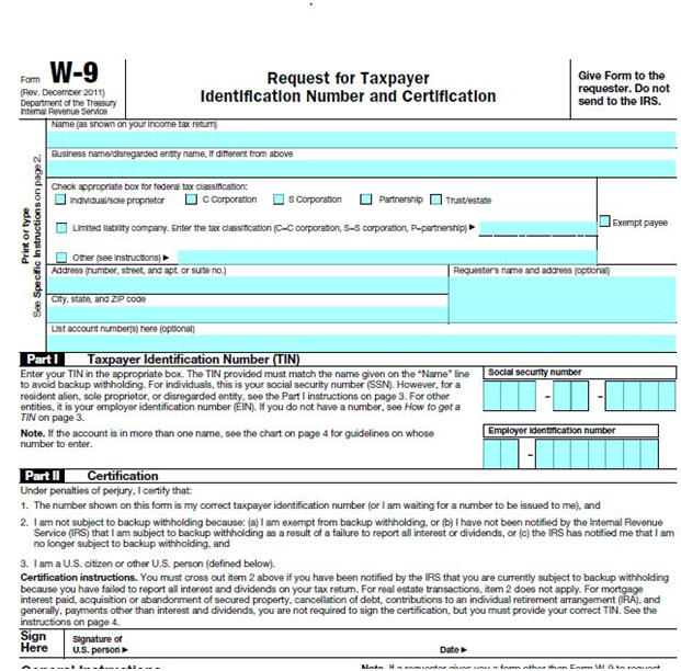 What is a W-9 and Do I Need One? | robergtaxsolutions.com