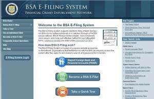 BSA E-filing system