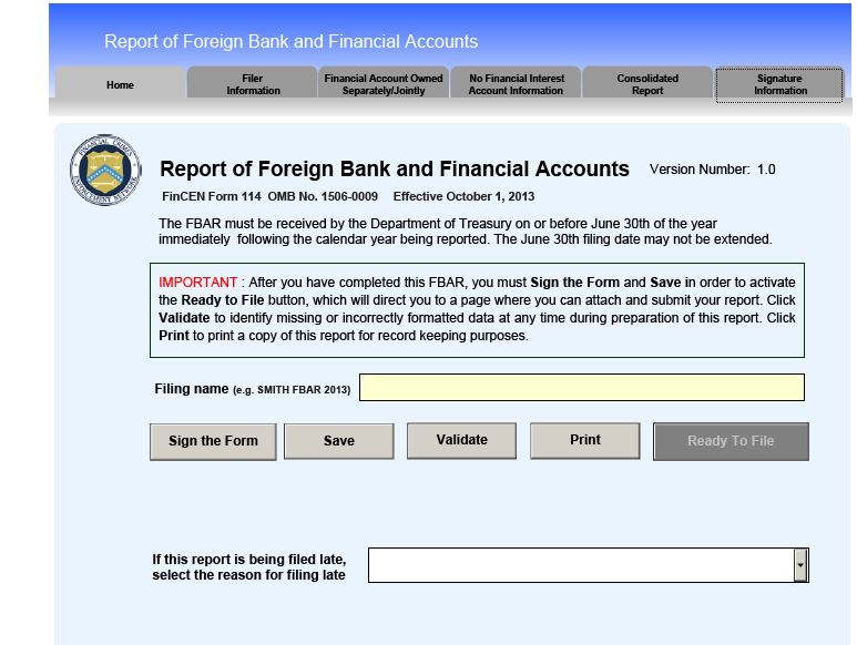 How To File Your FBAR | robergtaxsolutions.com