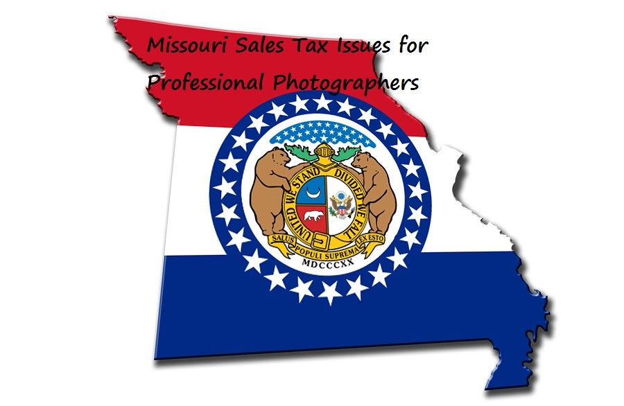 Missouri has special rules for sales taxes for photographers